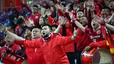 上港官方致谢远征球迷 另外两个赛场将继续努力