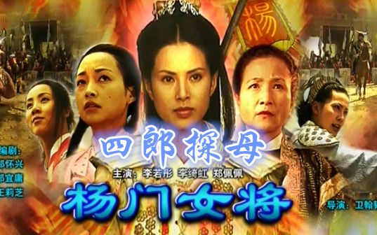 【武侠/动作】杨门女将之四郎探母(国语 CCTV6)2001年 李若彤 李绮虹 郑佩佩 梁家仁 连凯