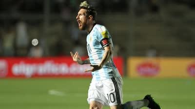 比赛报告-梅西1射2传轰世界波 阿根廷3-0哥伦比亚