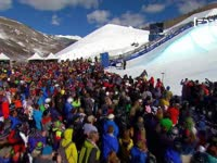 winter game精彩动作集锦 u池滑雪力与美完美结合