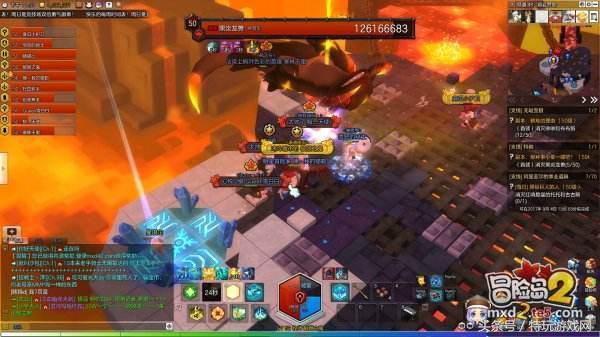 冒险岛2黑炎龙兽技能全解析 知己知彼百战不殆!