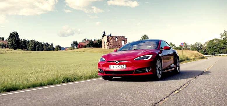 全新特斯拉Model S 科技感与优雅并存