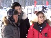 《冰雪星动力》20160305:蔡妍带队首次三连胜 于震现场卖萌表演