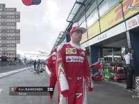 F1澳大利亚站FP2停表 莱科宁超萌大爷甩袖