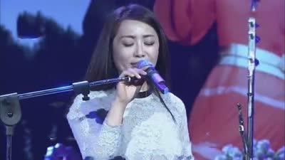 单身妈妈程琳 现场大秀歌技