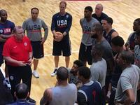 直击美国男篮训练 数十名保镖护驾梦之队大牌