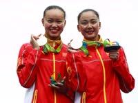 花游双人赛中国摘银 孙文雁做梦都想超俄罗斯