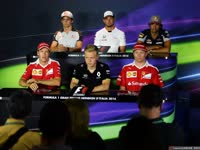 F1意大利站周四新闻发布会 众司机祝福马萨