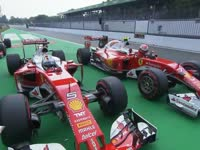 F1意大利站排位赛集锦:法拉利迎头赶上