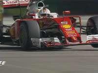 F1新加坡站排位赛:维特尔报告前防倾杆故障排位报销