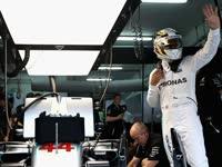 F1马来西亚站排位赛汉密尔顿杆位圈回放