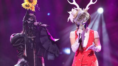 驯鹿面具背后竟是她?! 揭面后全场都泪奔了!