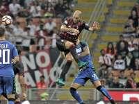 意甲-巴卡点射 米兰连扳3球4-3逆转萨索洛