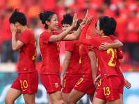 【进球】缅甸后卫解围送礼 张睿补射助女足首开纪录