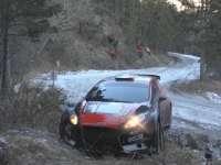 哧溜哧溜冰上滑!WRC蒙特卡洛站事故集锦