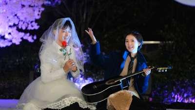 林志颖穿婚纱求嫁