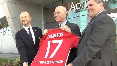 【场外】结合为爱而来!曼联宣布与查尔顿爵士排雷慈善组织合作