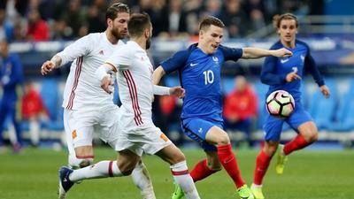 【录播】法国vs西班牙(粤语) 2017国际友谊赛