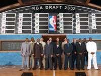 NBA03年选秀 三位天之骄子的冠军之路