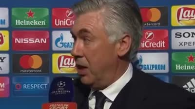 【言论】安切洛蒂:千算万算没算到裁判误判 为我的球员感到骄傲【中字】
