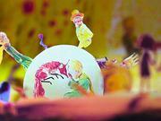 儿童节自制小王子立体童话贺卡,含巧妙机关,送孩子一个童话王国