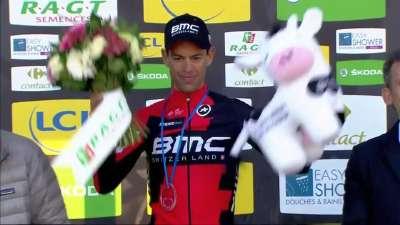波特登上领奖台 康塔多总成绩第三