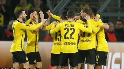德甲-奥巴梅扬制胜球 多特1-0因戈尔施塔特仍居第3