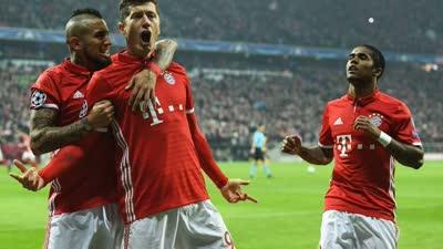 20分钟长集锦-欧冠拜仁5-1横扫阿森纳