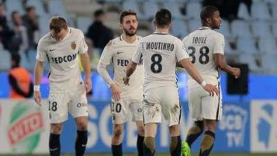 法甲-法尔考哑火席尔瓦救主 摩纳哥1-1巴斯蒂亚