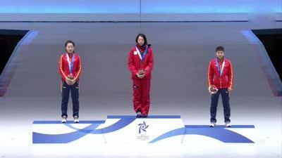 2017札幌亚冬会首金颁奖仪式