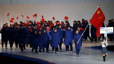 札幌亚冬会开幕 中国率先亮相武大靖任旗手