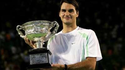费德勒2006澳网送蛋巴格达蒂斯 夺大满贯第7冠