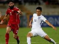 【叙利亚0-0韩国】 太极虎猛攻全场无果