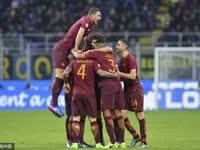 意甲-纳英戈兰两轰世界波 国米主场1-3遭罗马双杀