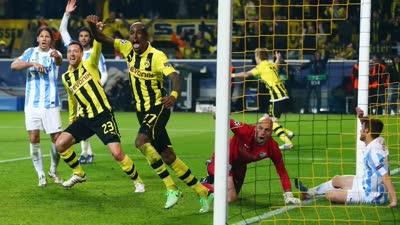 多特欧冠1/4决赛经典进球:补时神奇大逆转 加时绝杀拜仁