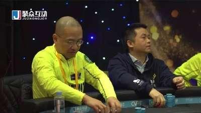 德州扑克-杜悦凭口袋Q成功Double