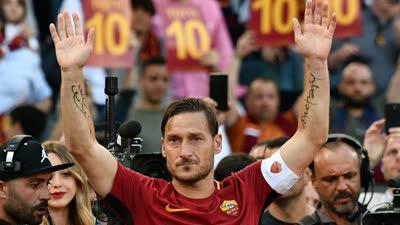 官方:托蒂正式宣布退役 将留在罗马俱乐部任职