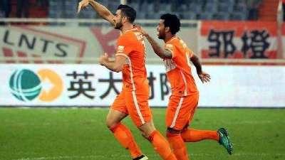 【进球GIF】申花高空连续失守 佩莱头槌破门3球领先