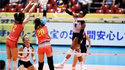 中国女排3-1美国队 获大冠军杯开门红!