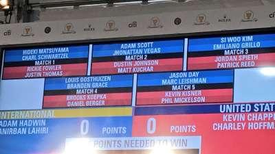 总统杯首日四人两球赛对阵 南非双雄继续搭档出战