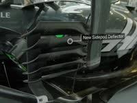 哈斯赛车侧箱垂直翼片解析 全新设计稳定高速过弯