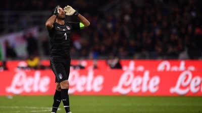 世预赛附加赛-弗洛伦齐中柱 意大利总分0-1遭淘汰