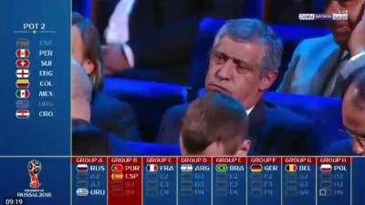 好不容易当种子还抽中西班牙 葡萄牙主帅只剩苦笑