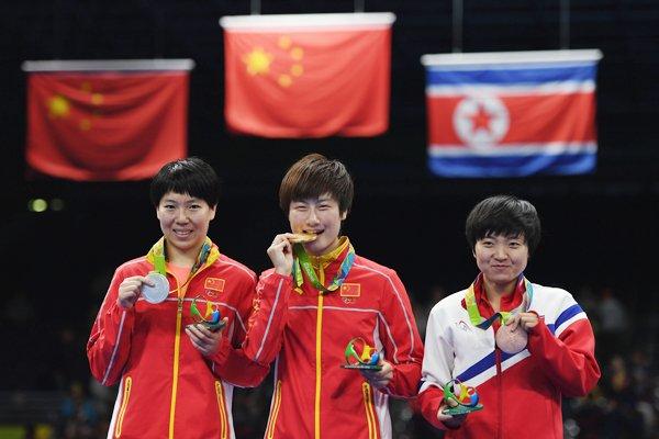 乒乓球女单决赛 丁宁4-3李晓霞成就大满贯伟业 - 杜铁林 - 大城杜铁林书屋