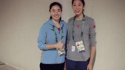 女篮队长露雯:我们应向中国女排学习