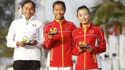 2秒险胜刘虹摘金竞走奥运史上最激烈的冠军争夺