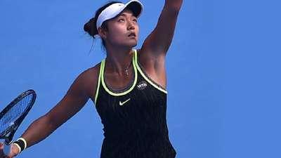 中网-王雅繁两盘横扫对手 首进32强将战科娃