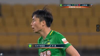 进球-张稀哲角球造杀机 门前混战李磊垫射扳平