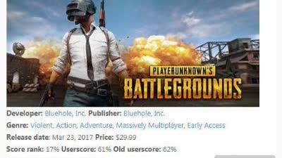《绝地求生》游戏销量突破1500万 亚洲玩家成为主力