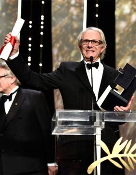 《我是布莱克》摘金棕榈 多兰拿奖现场落泪